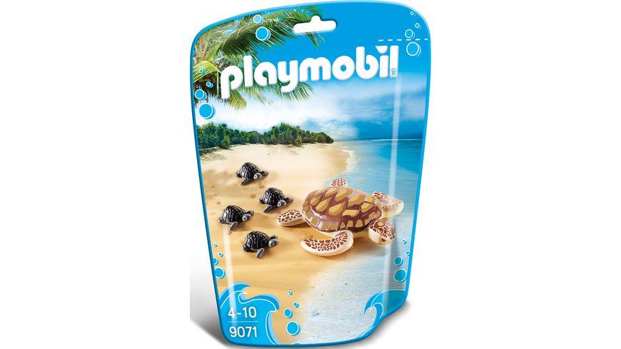PLAYMOBIL 9071 Family Fun Wasserschildkroete mit Babys