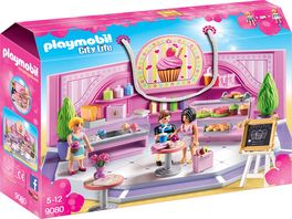 PLAYMOBIL 9080 City Life Cafe Cupcake