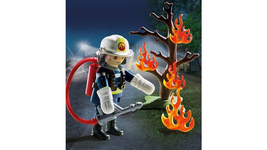 PLAYMOBIL 9093 Special Plus Feuerwehr Loescheinsatz