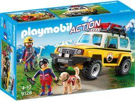 PLAYMOBIL 9128 Action Bergretter Einsatzfahrzeug