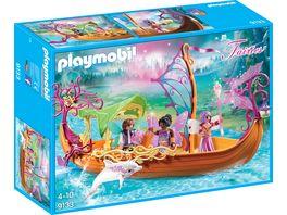 PLAYMOBIL 9133 Fairies Romantisches Feenschiff
