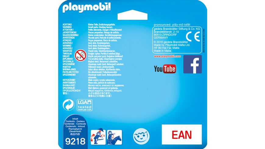 PLAYMOBIL 9218 Duo Packs Duo Pack Polizist und Langfinger