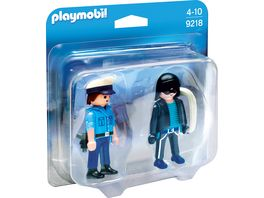 PLAYMOBIL 9218 Duo Packs Duo Pack Polizist und Langfinger