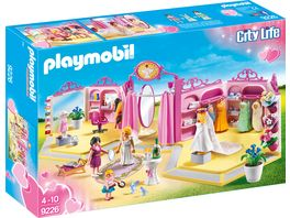 PLAYMOBIL 9226 City Life Brautmodengeschaeft mit Salon