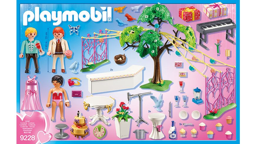 PLAYMOBIL 9228 City Life Hochzeitsparty