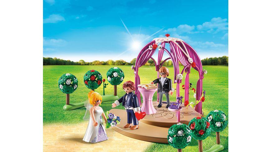 PLAYMOBIL 9229 City Life Hochzeitspavillon mit Brautpaar