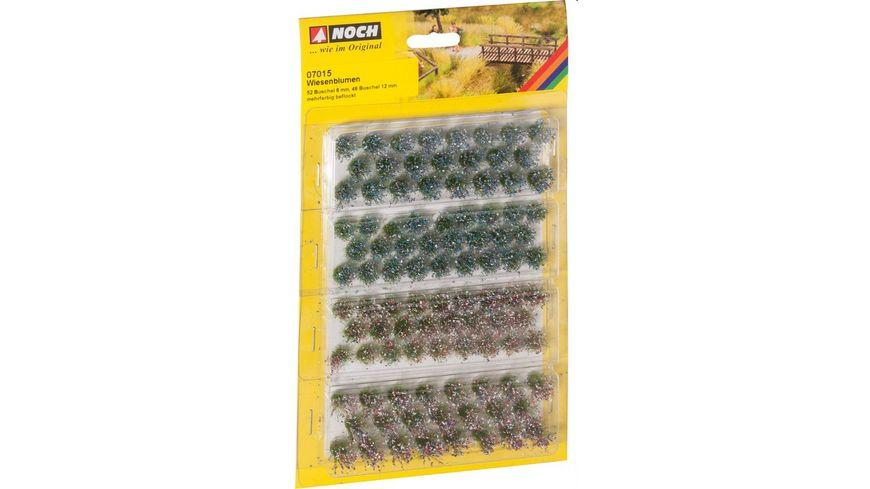 NOCH 7015 Grassbueschel Wiesenblumen
