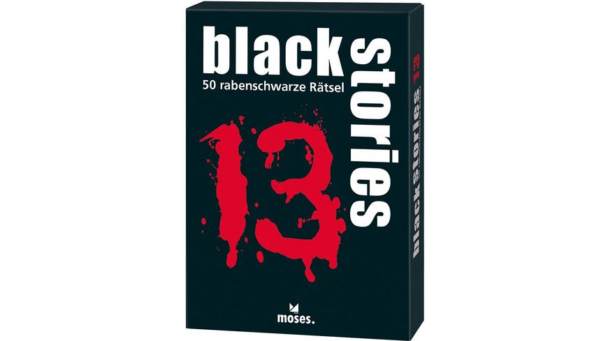 moses black stories black stories Nr 13