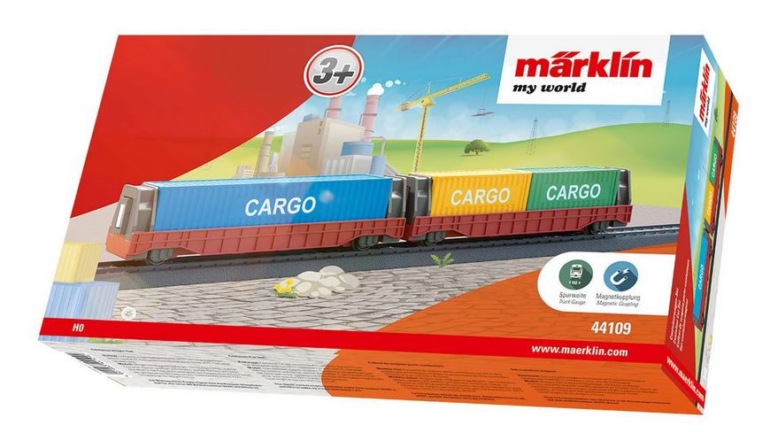 Maerklin 44109 Maerklin my world Containerwagen Set