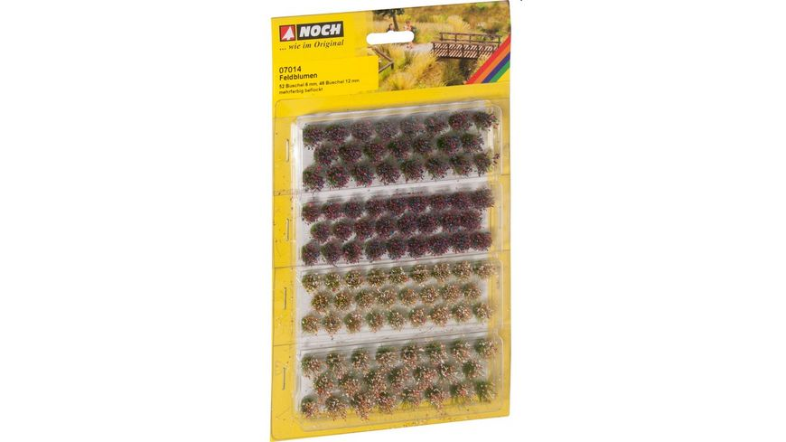 NOCH 7014 Grassbueschel Wildblumen