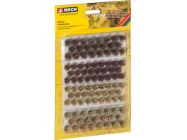NOCH H0 7014 Grassbueschel Wildblumen