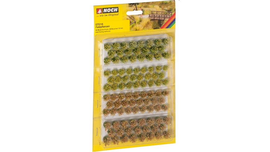 NOCH H0 7016 Grassbueschel Feldblumen