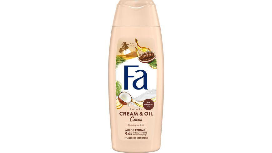 Fa Dusche Cream Oil Kakaobutter Kokosoel