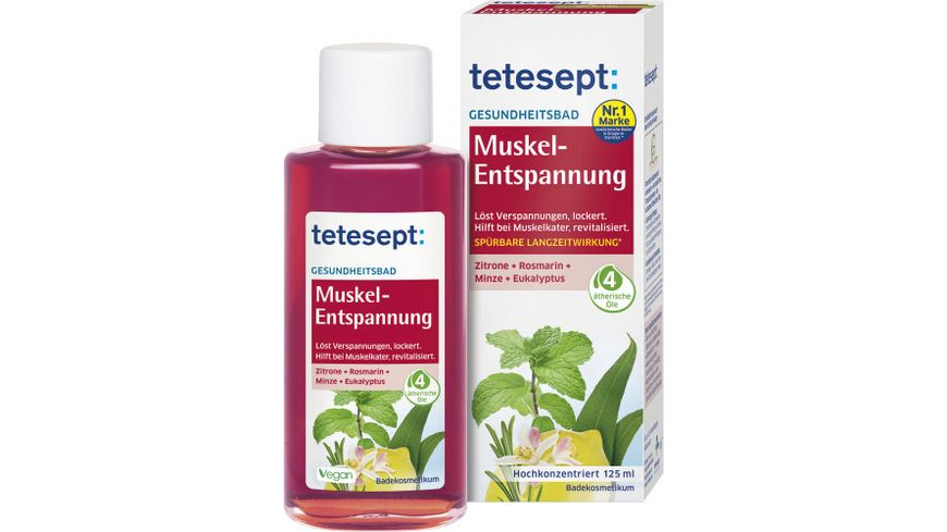 tetesept Bad Muskel Entspannung