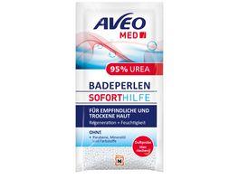 AVEO MED Soforthilfe Badeperlen 95 Urea