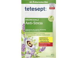 tetesept Bad Meeressalz Anti Stress