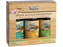 Original Hagners Sauna Aufguss Set