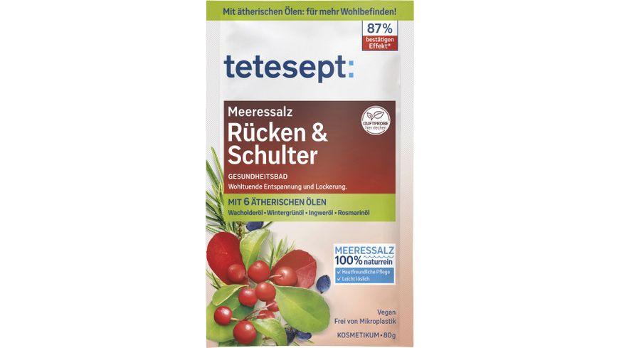 tetesept Bad Meeressalz Ruecken Schulter