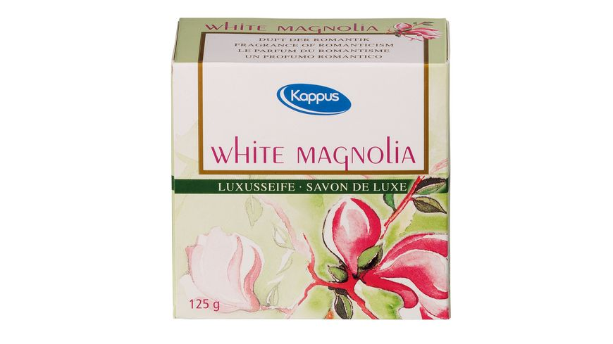 Kappus Luxusseife White Magnolia