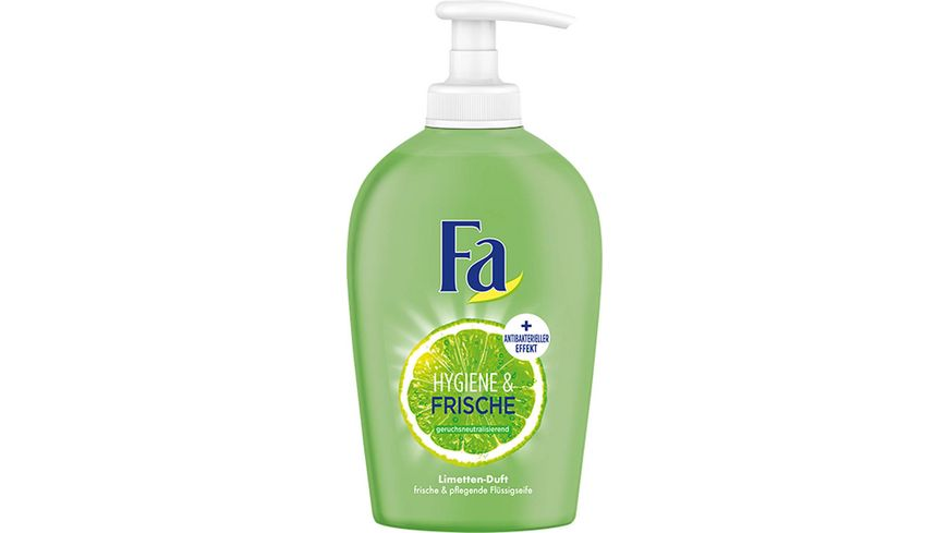 Fa Fluessigseife Hygiene Frische Limette