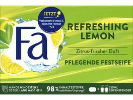 FA Pflegende Festseife Refreshing Lemon