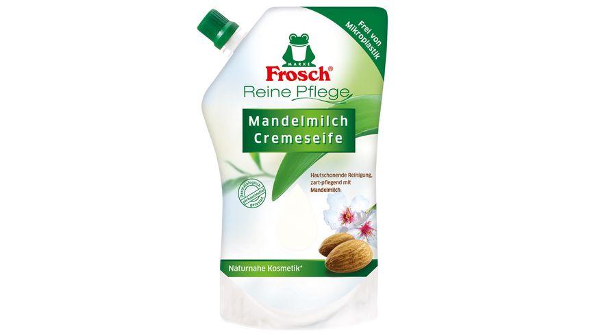 Frosch Reine Pflege Cremeseife Mandelmilch Nachfuellbeutel