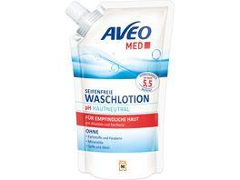 AVEO MED Seifenfreie Waschlotion Nachfuellbeutel