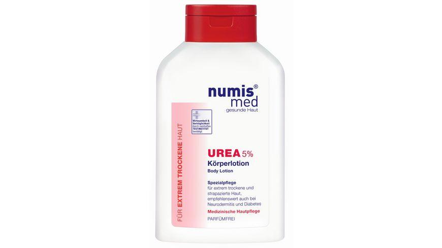 numis med Koerpermilch Urea 5