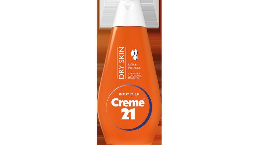 Creme 21 Bodymilk Mandeloel trockene Haut
