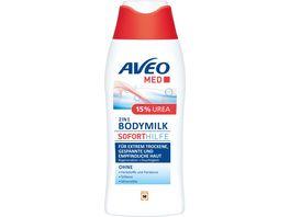 AVEO MED Soforthilfe Bodymilk 15 Urea