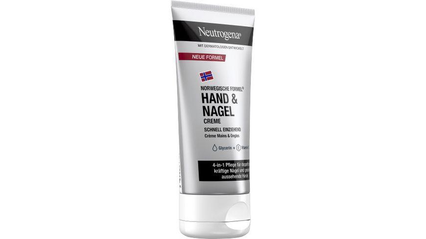Neutrogena Hand Nagel Feuchtigkeits Creme