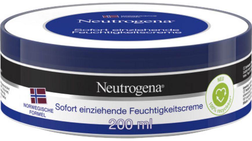 Neutrogena Creme Sofort Einziehend Tiegel
