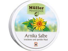 Mueller Pflanzenkosmetik Salbe Arnika