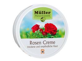 Mueller Pflanzenkosmetik Creme Rosen