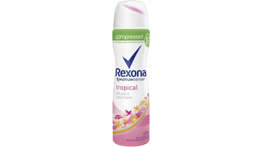 Rexona Compressed Deospray Tropical