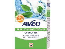 AVEO Erfrischungstuecher Gruener Tee