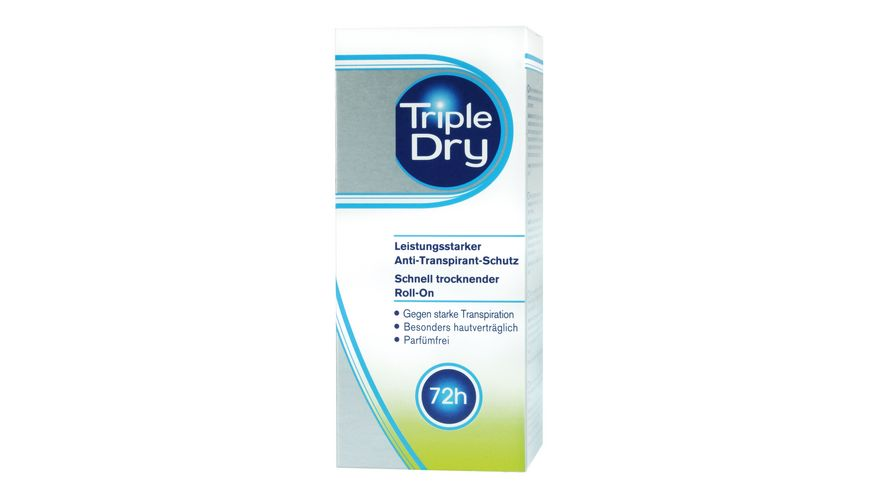 Triple Dry Deo Roll On Antitranspirant