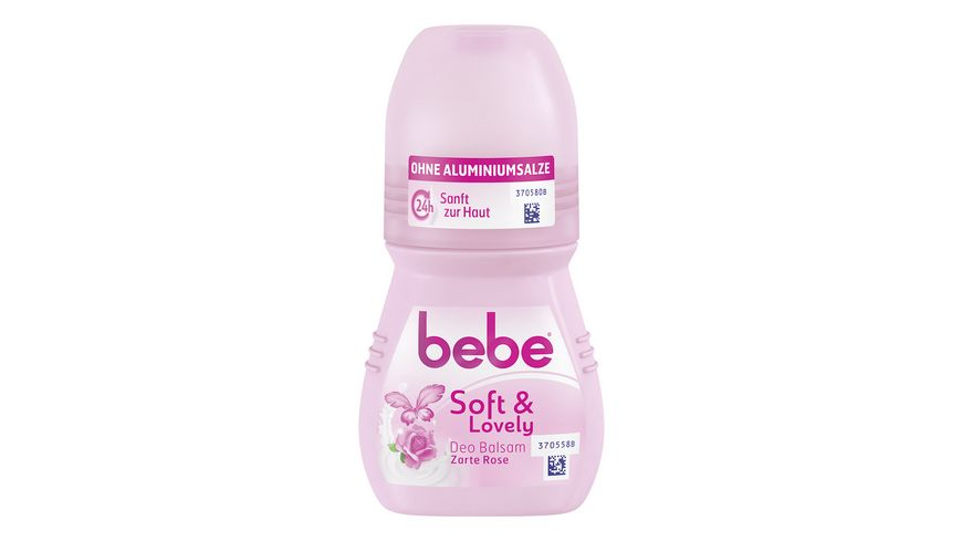 bebe Young Care Deo Roll on soft lovely Aluminiumfrei