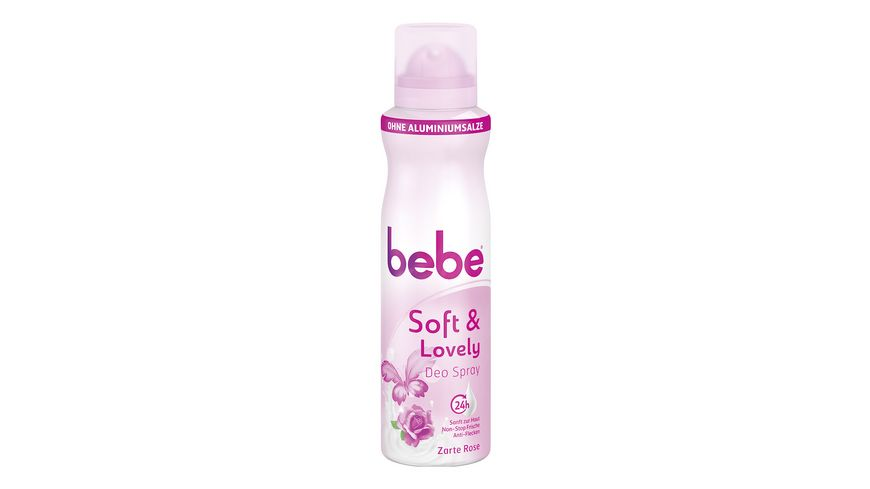 bebe Young Care Deospray soft lovely Aluminiumfrei