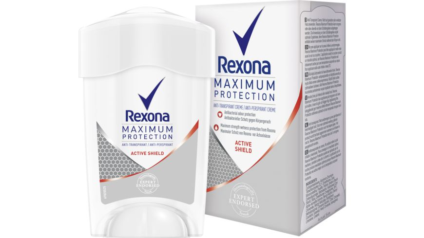Rexona Deo Creme Women Maximum Protection Active Shield