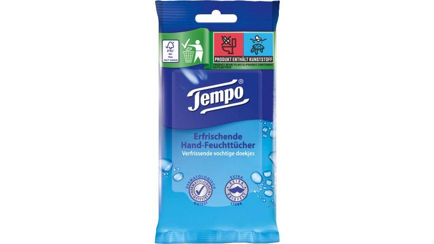 Tempo Feuchte Tücher fresh to go Classic