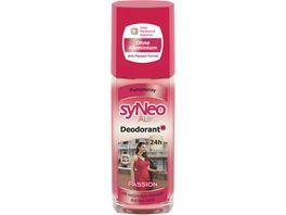 syNeo Aura Deodorant und Passion Pumpspray