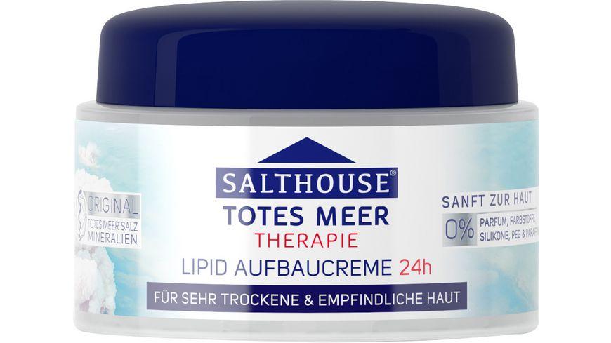 SALTHOUSE Totes Meer Therapie Lipid Aufbaucreme