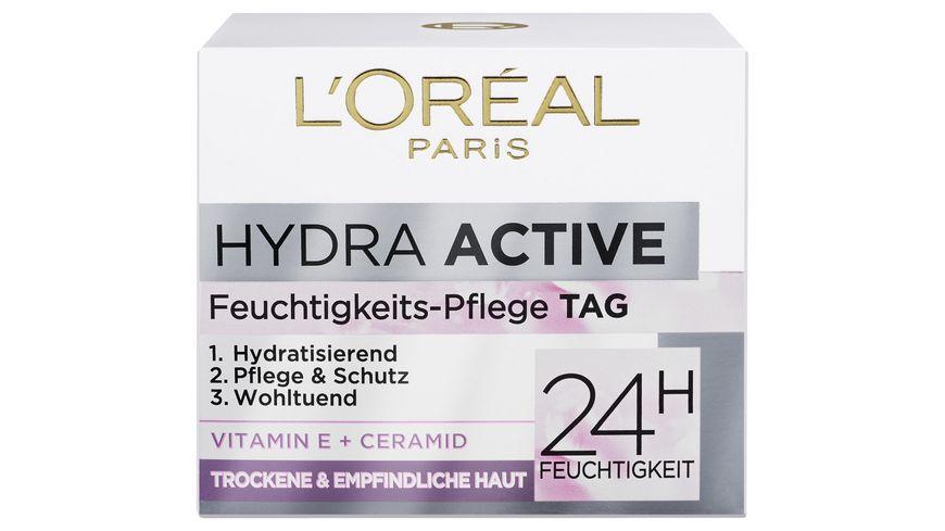 L OREAL PARIS HYDRA ACTIVE 3 Sehr Trockene Sensible Haut