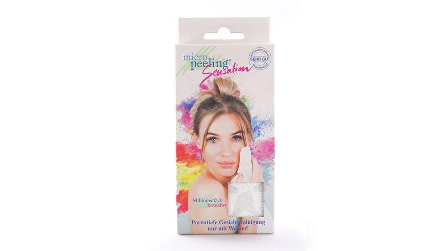 Micro Peeling Sensation Gesichtsreinigungstuch Micro Peeling Weiss
