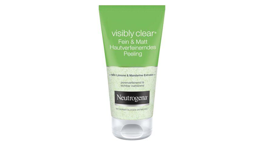 Neutrogena Visibly Clear Fein Matt Peeling