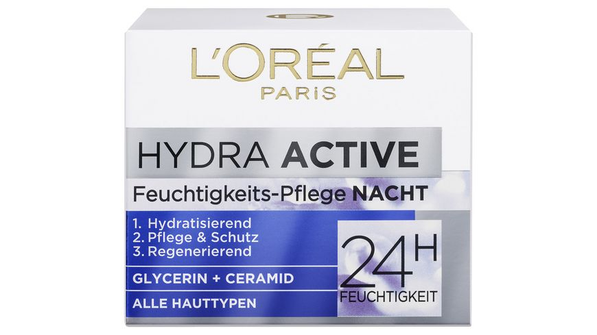 L OREAL PARIS HYDRA ACTIVE 3 Nachtcreme