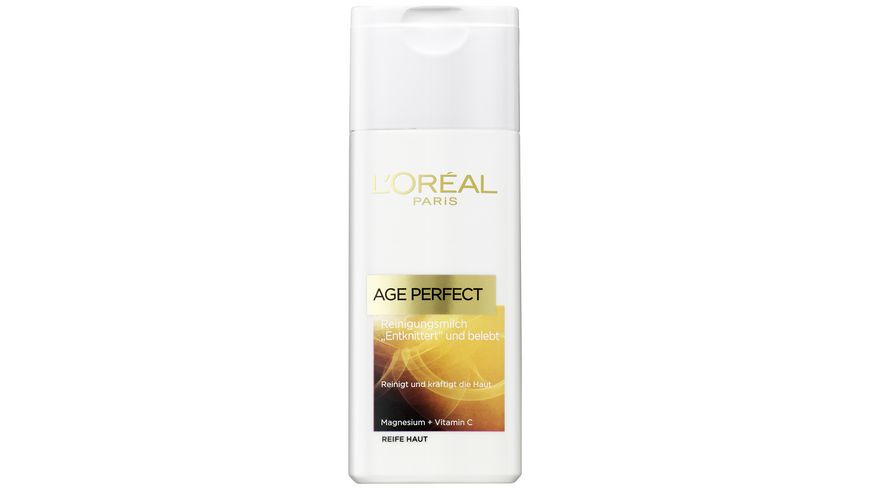 L OREAL PARIS AGE PERFECT Reinigungsmilch