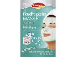 Schaebens Feuchtigkeits Maske 2x5 ml