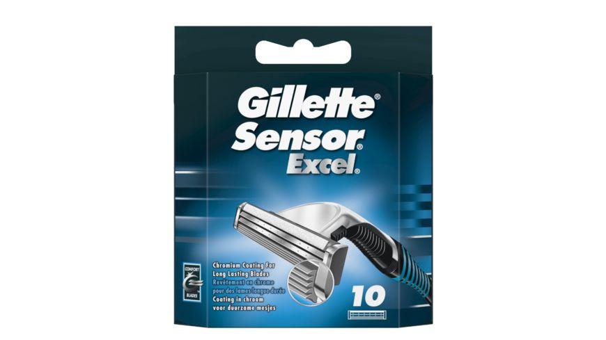 Gillette Klingen Sensor Excel 10 Stueck